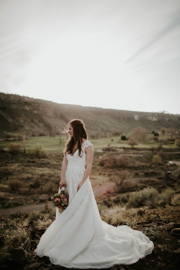 Emotional Waterfall Elopement Style and Photography Inspiration