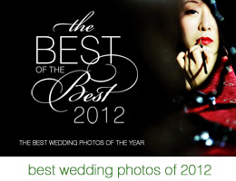 The best wedding photography of 2012 by the world's best wedding photographers, photo by Chris + Lynn