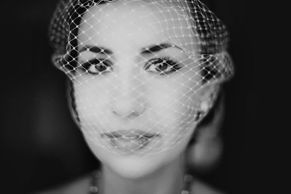 gorgeous, classic black and white bridal portrait by top Seattle and Portland based wedding photographers Gabriel Boone Photography