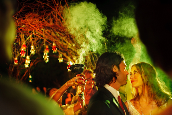colorful mayan ceremony wedding in Mexico with photos by Zasil Studios Photography | junebugweddings.com
