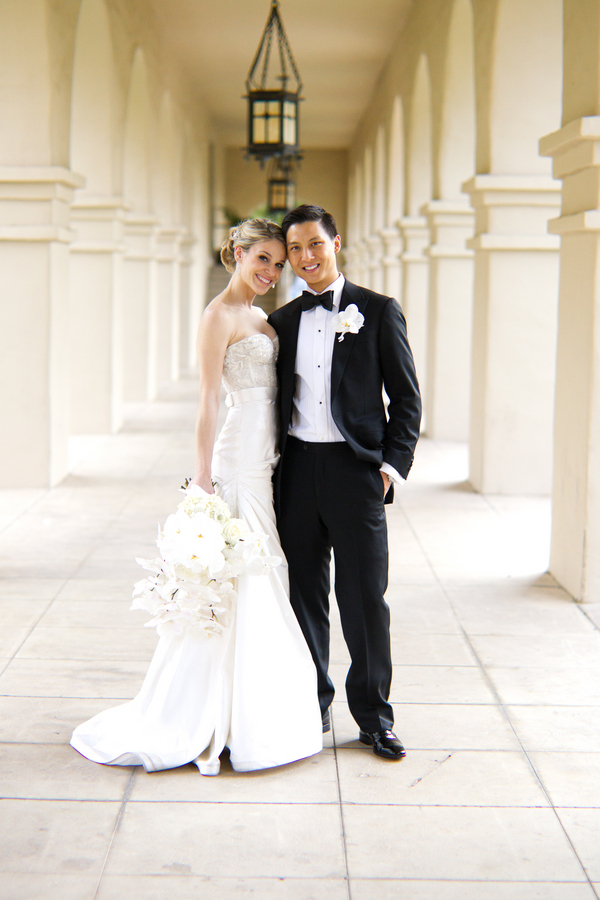 classic, elegant wedding at the Arizona Biltmore - photos by top Phoenix-based wedding photographer Jennifer Bowen