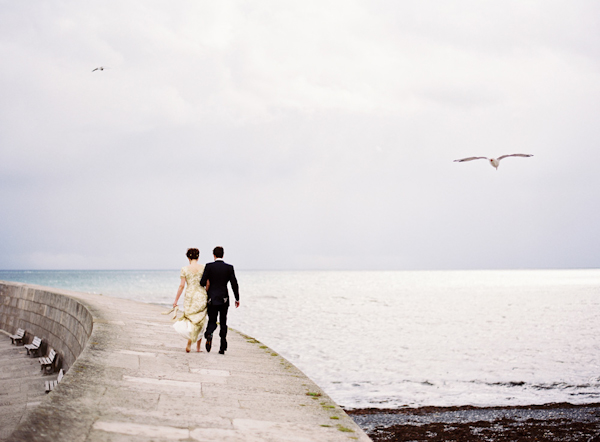 distinctive wedding photo by top UK wedding photographer Aneta MAK