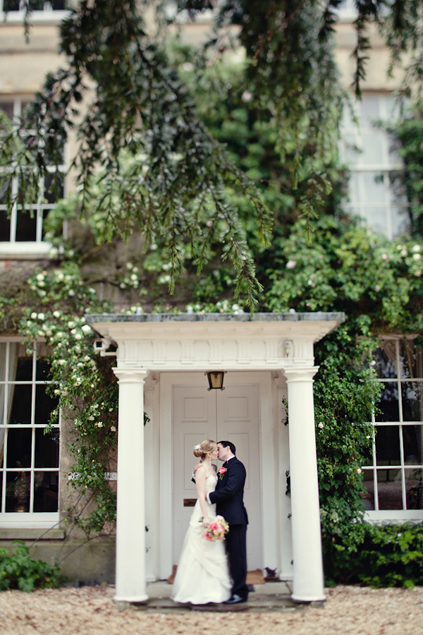 distinctive wedding photo by top UK wedding photographer Marianne Taylor