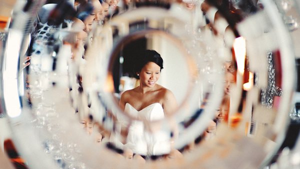 distinctive wedding photo by top D.C. area wedding photographer Sam Hurd