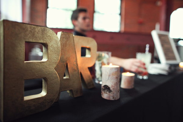 Fun, playful and modern wedding, photos by top Chicago wedding photographers The Rasers | via junebugweddings.com
