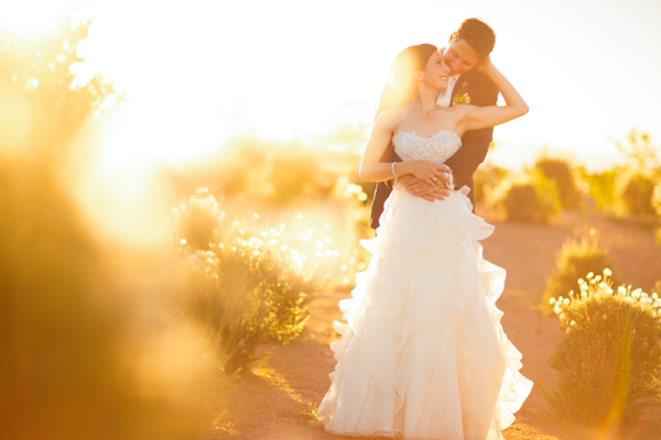 colorful and sweet santa fe wedding with photos by Brett Butterstein Photography | via junebugweddings.com