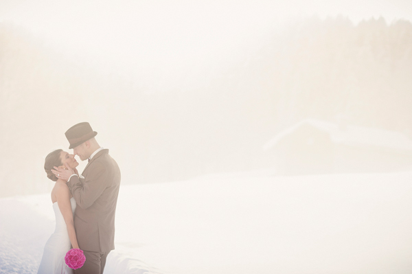 Creative wedding photo by top Swiss wedding photographer Andreas Feusi Photography | via junebugweddings.com