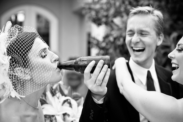 Creative wedding photo by top Fresno, California wedding photographer Mark Janzen Photography | via junebugweddings.com