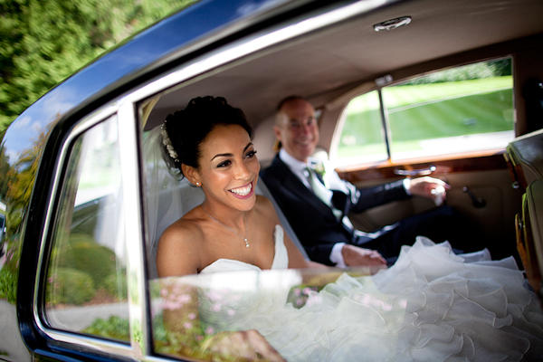Creative wedding photo by top England wedding photographer Mike Garrard Photography | via junebugweddings.com