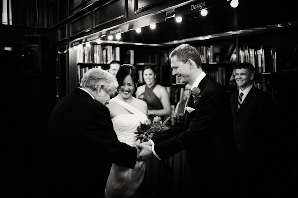 intimate, romantic NYC wedding at Mondrian Hotel Soho - wedding photos by top NYC wedding photographer Otto Schulze