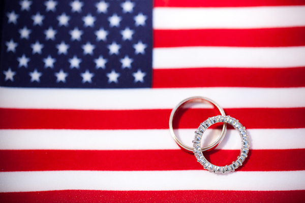 creatively captured wedding ring photo by top D.C. wedding photographer Paul Morse Photography