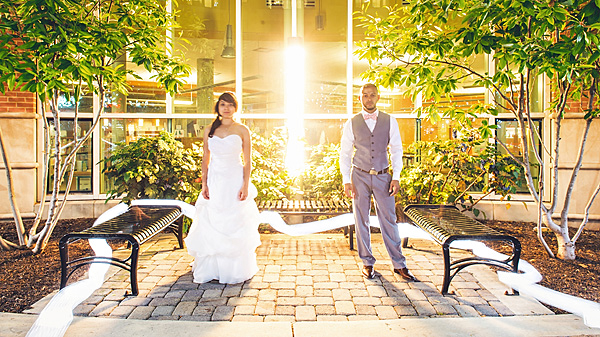 summery washington d.c. rooftop wedding celebration - photos by top D.C. area wedding photographer Sam Hurd