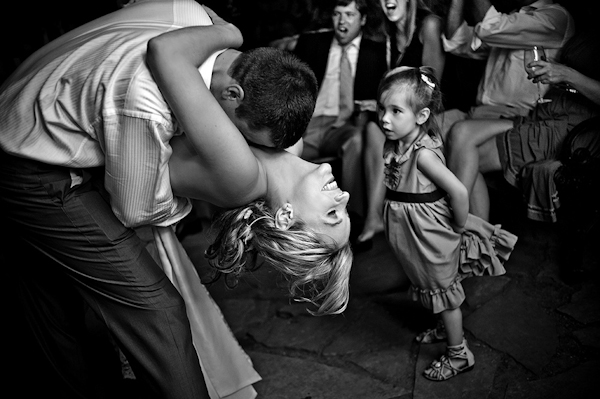 distinctive, modern wedding photo by award-winning destination wedding photographers Davina + Daniel | Junebug Weddings