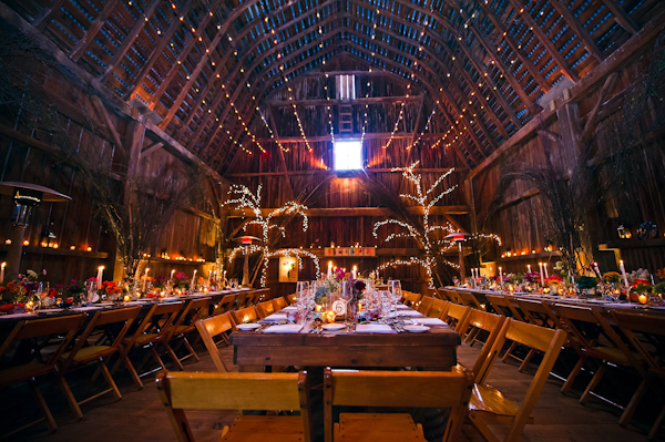 Eclectic upstate new york barn wedding by denver based for Small wedding venues ny