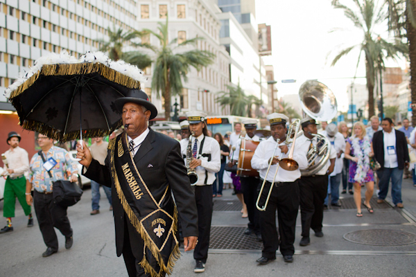 Wedding in the French Quarter of New Orleans with Photos by Kathryn Krueger Photography | junebugweddings.com