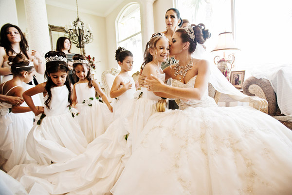 wedding photo by Florida based JSP Studio | via junebugweddings.com