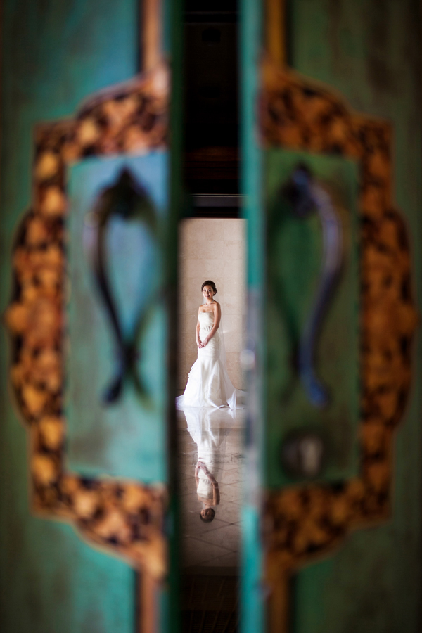 creative wedding photo by Bali photographer, Veli Yanto | via junebugweddings.com