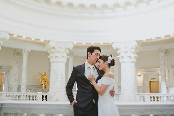 wedding photo by Boise and Portland based Sara K. Byrne Photography | via junebugweddings.com