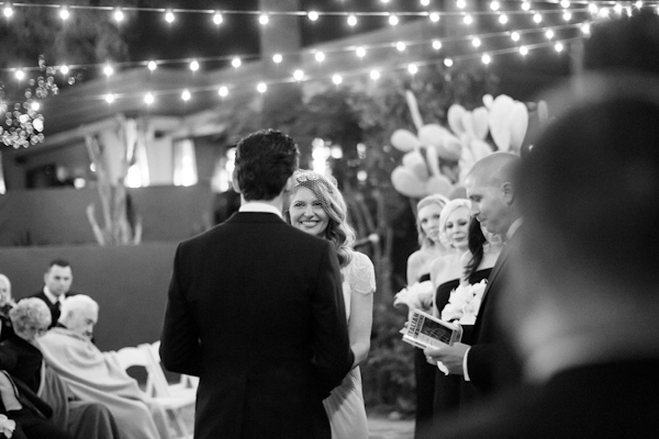 elegant black tie wedding at Sanctuary Camelback Mountain in Arizona with photos by Jennifer Bowen Photography | junebugweddings.com
