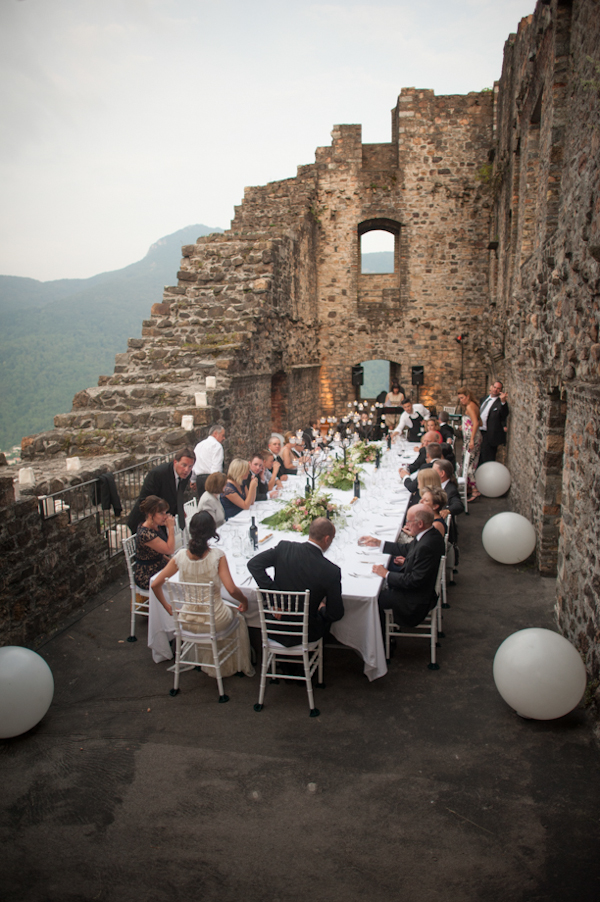 intimate wedding in Morcote, Switzerland at Castello di Morcote, photos by Magnus Bogucki | junebugweddings.com