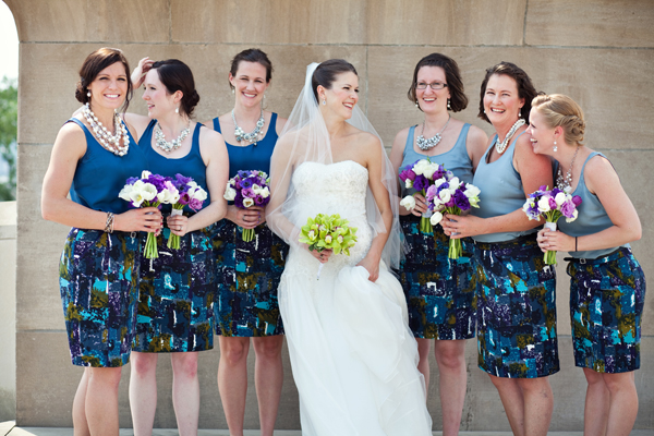 joyful wedding in Missouri with photos by The Rasers | via junebugweddings.com