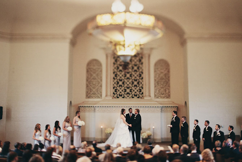 modern wedding at Hotel 1000 with photos by James Moes Photography | junebugweddings.com