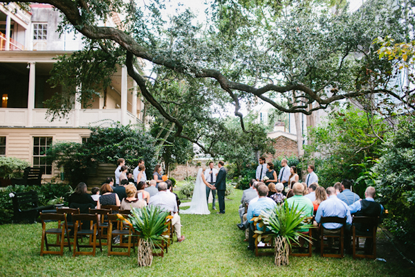 outdoor wedding in Charleston, South Carolina with photos by Geneoh Photography | junebugweddings.com
