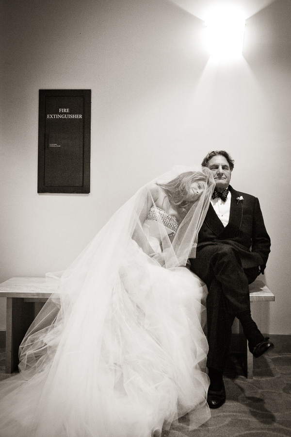 wedding photo of father by Brian Dorsey Studios | junebugweddings.com