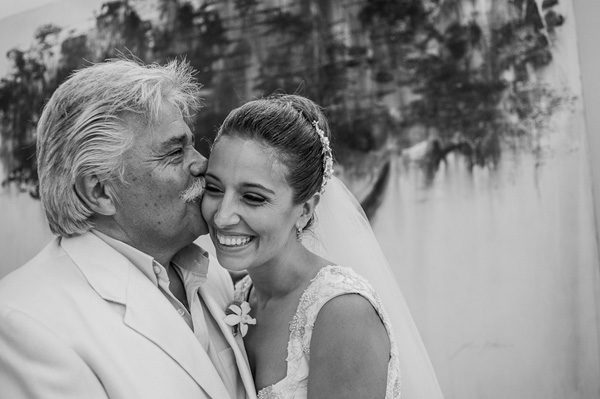 wedding photo of father by Citlalli Rico | junebugweddings.com