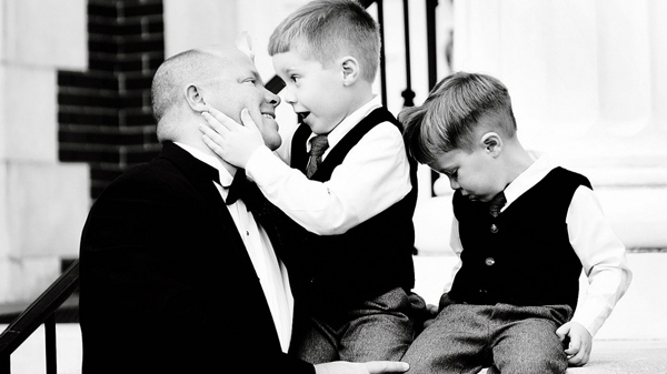 wedding photo of father by Gandy Photographers | junebugweddings.com