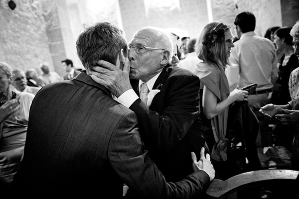 wedding photo of father by Ivan Franchet | junebugweddings.com
