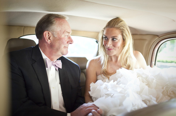 wedding photo of father by Paul Morse | junebugweddings.com