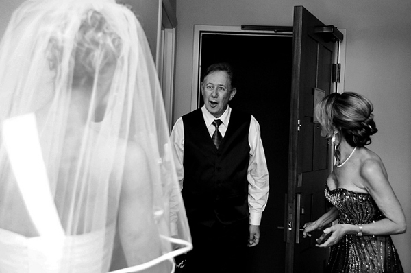 wedding photo of father by Sierra Blanco| junebugweddings.com