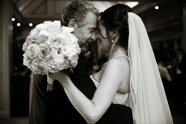 wedding photo of father by Studio 563 | junebugweddings.com