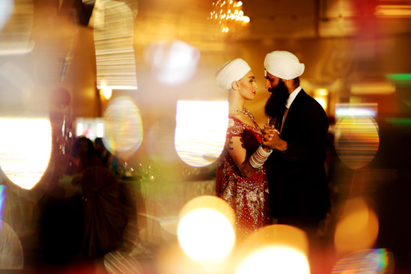 coloful and creative wedding photos of South Asian wedding by Chris+Lynn | via junebugweddings.com
