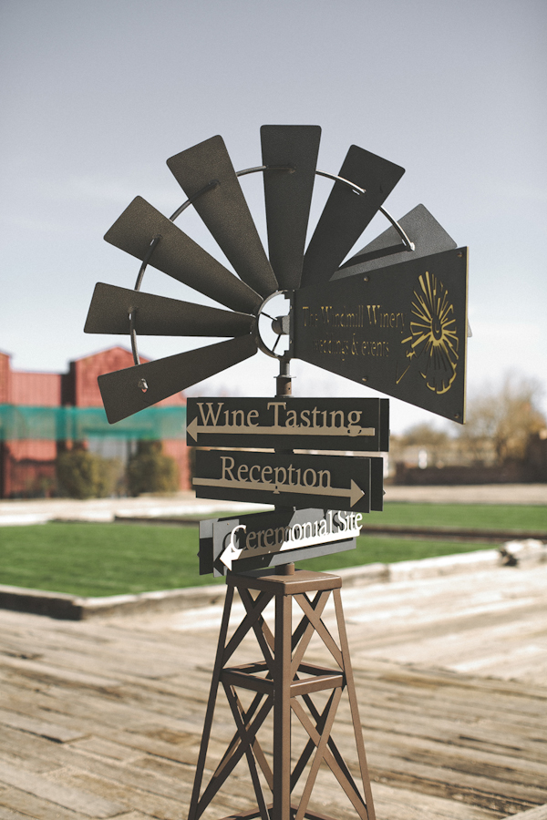 Vintage And Colorful Wedding At The Windmill Winery
