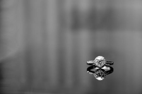 Sparkling Engagement Rings from Real Junebug Brides Junebug Weddings