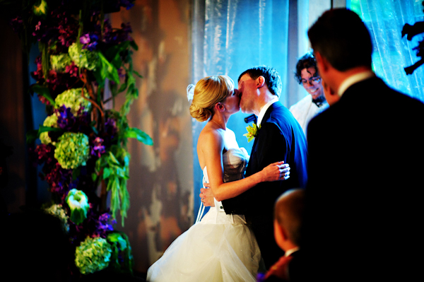 elegant wedding at the Ivy Room in Chicago, photos by Kevin Weinstein | via junebugweddings.com