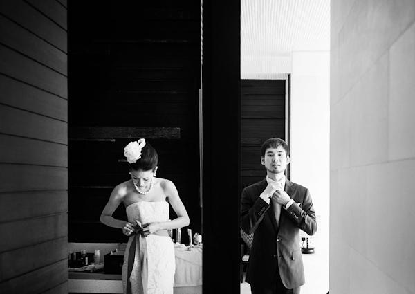 wedding in Bali at Alila Villas Uluwatu, photo by Marcus Bell of Studio Impressions | junebugweddings.com