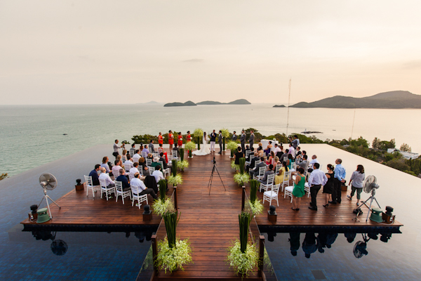 colorful and joyful wedding in Phuket, Thailand with photos by Julian Wainwright Weddings | via junebugweddings.com