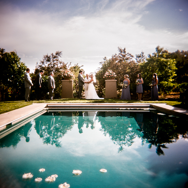 wedding in Santa Fe, New Mexico at Four Seasons Rancho Encantado with Photos by Twin Lens | via junebugweddings.com