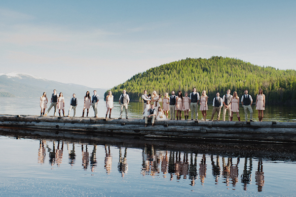 wedding photo by Portland, Oregon and Seattle, Washington based Ryan Flynn Photography | via junebugweddings.com