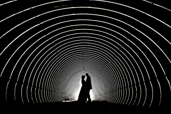 honorable mention best creative wedding photo of 2011 by Shane O'Neill of Aspect Photography