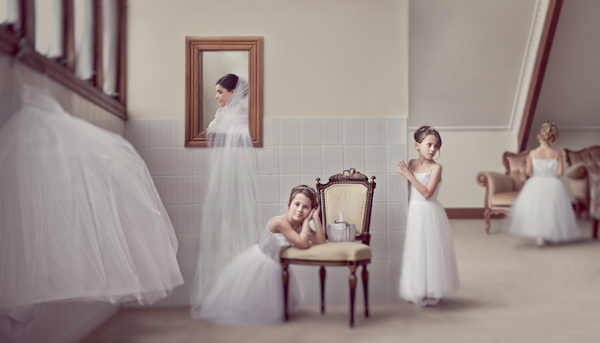 honorable mention best creative wedding photo of 2011 by Marcus Bell of Studio Impressions