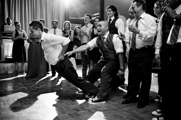 honorable mention best funny wedding photo of 2011 by Amir Razi of Morgan Lynn Photography