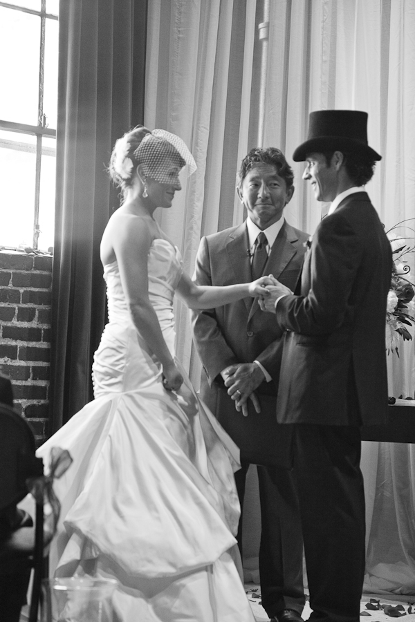 vintage inspired elegance, downtown Seattle wedding - photo by Seattle wedding photographer Cheri Pearl
