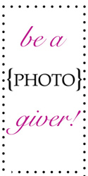 Support Get Hitched Give Hope by Being a Photo Giver! Raise money to support cancer survivors, and help grant wishes for those with terminal illness.