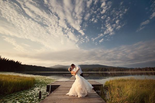 creative wedding photo by top Vancouver, B.C. based wedding photographers Sakura Photography