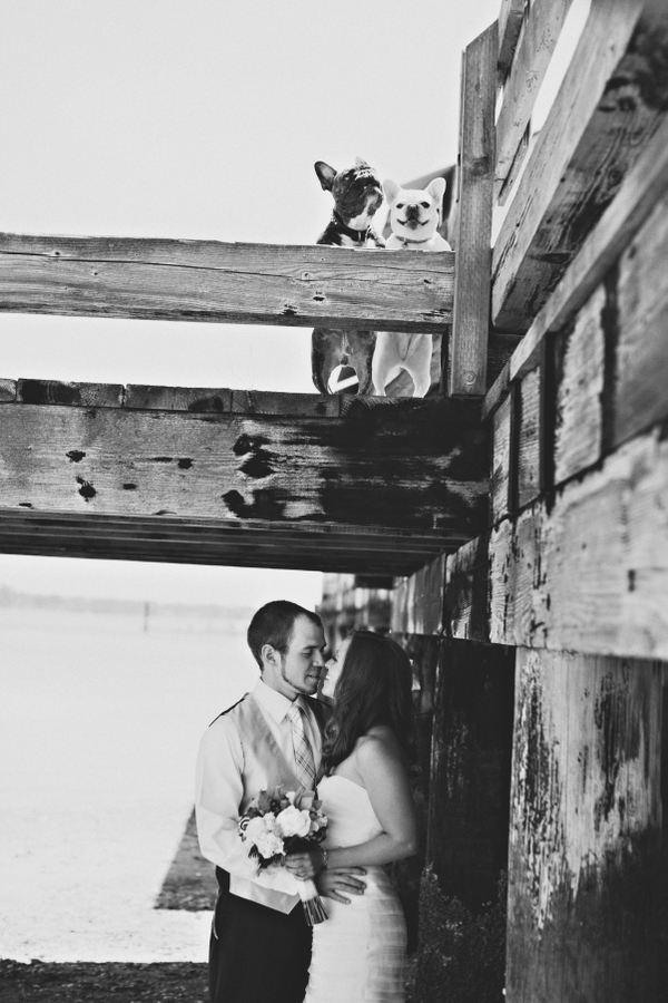adorable wedding photo by Seattle based photographer Michele Waite | via junebugweddings