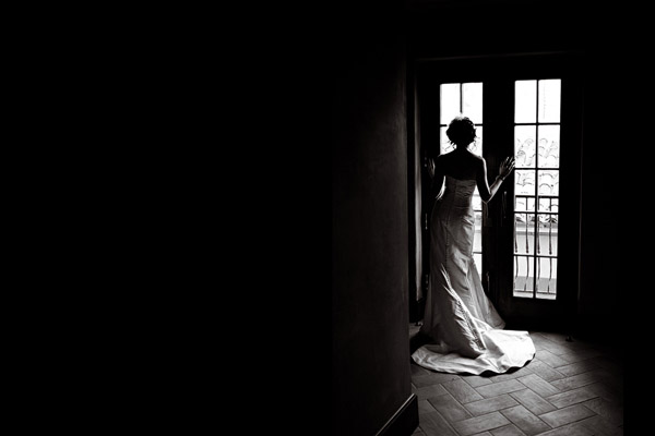 amazing silhouette wedding photo by Studio222 Photography